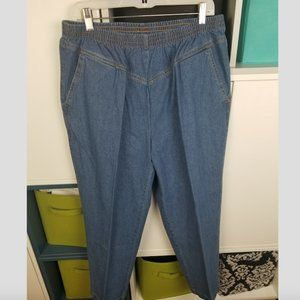 80's Pleated Jeans